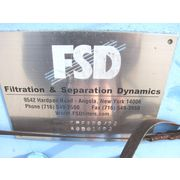 "24"" Fsd Filtration & Separation Dynamics Samco Technologies Filter Press Unused!"