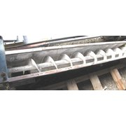 "Used 9""ø X 7' Long Stainless Steel Screw Conveyor"