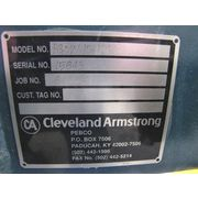"Unused 12"" Cleveland Armstrong Pebco Powder Gate One-way Rolling Blade - Pgow-12"