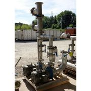 Used Goulds Itt Industries Duplex Stainless Steel Pump Package Model Ssh 3x4-10