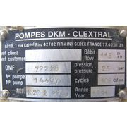 Used POMPES DKM PUMP