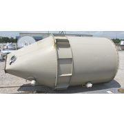 USED STEEL STORAGE HOPPPER - 170 CU/FT
