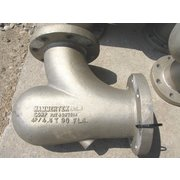 "Used 4"" Hammertek 90° Elbow - Cast Aluminum"