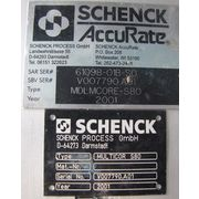 USED SCHENCK ACCURATE FLOW METER MDLMCORE-S80