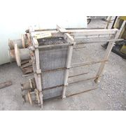 USED GRAHAM SYSTEM REHEAT PLATE HEAT EXCHANGER - 247 SQ FT