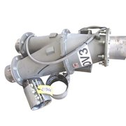 "USED 8"" ROTOLOK PNEUMATIC CONVEYING DIVERTER VALVE"
