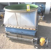 Used Heavy-duty Opposed Blade Control Damper - Pneumatic Actuated