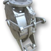 "USED 4"" REIMELT 2-WAY DIVERTER VALVE - ZWV DN110/P6"
