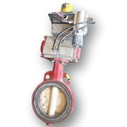 "USED 6"" BRAY BUTTERFLY VALVE - WAFER STYLE"
