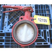 "USED 6"" BRAY BUTTERFLY VALVE WAFER - SERIES 30"