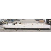 "USED 30""W X 20'L KEY TECHNOLOGY VIBRATORY SHAKER CONVEYOR - STAINLESS STEEL"