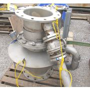 "Used 14"" COPERION Stainless Rotary Airlock Valve - ZVH 480"