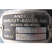 Used Andritz Sprout Bauer Rotary Valve - 1410-std