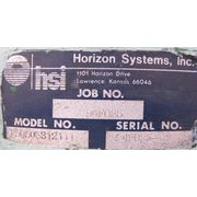 Used Horizon Systems Filter receiver Dust Collector with Vacuum blower