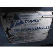 USED TAYLOR PRODUCTS GROSS WEIGH SCALE PACKAGING MACHINE MODEL TEVG