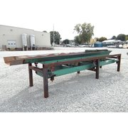 "USED TRIPLE/S RLU NATURAL FREQUENCY CONVEYOR TABLE 24""W X 15'L - MODEL TLB-24"