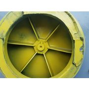 "600 CFM @ 8"" SP Used New York Blower Nyb Compact Gi Fan 125"