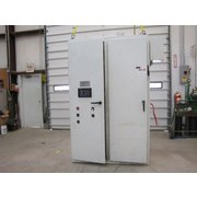 Used Allen-bradley Panelview 550 Cat 2711-b5a15 With Cabinet