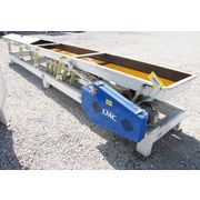 "Used 24"" Wide X 20' Long Lewis M Carter Vibrating Conveyor"