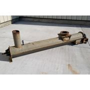 "9"" Dia. X 8' Long Carbon Steel Used Screw Feeder Conveyor"