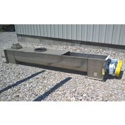 "Used Thomas Stainless Steel Screw Conveyor 16""ø X 12' Long"