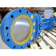 "Unused 10"" Diameter Newcon Knife Gate Slurry Valve"
