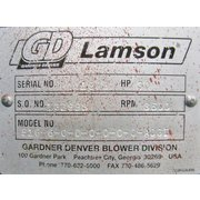 Rebuilt Gardner Denver Lamson Multi-stage Blower Model 516-6