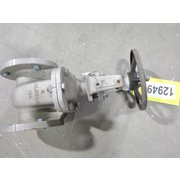 "USED ALOYCO 3"" GATE VALVE - SOLID WEDGE DISC"
