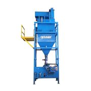Cyclonaire Bulk Bag Unloading PKG w/ Dense Phase Pneumatic Conveying equip