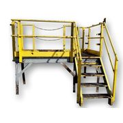 USED ELEVATED 4' STEEL PLATFORM - CARBON STEEL