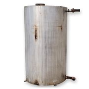 USED STAINLESS STEEL INSULATED TANK - 400 GALLON