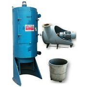 Used 25  HP Aicentric Industrial Vacuum Filter Dust Collector