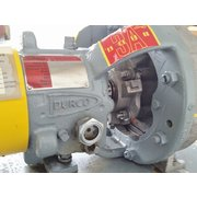 USED 7.5 HP DURCO FLOWSERVE MK 3 LO-FLO STAINLESS PUMP 1K1.5X1LF-8