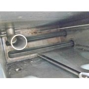 USED TWO CHAMBER STAINLESS STEEL HEAT TANK