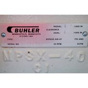 USED BUHLER ROTARY AIRLOCK VALVE MPSX-400