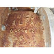 "USED 6"" ALFA VALVOLE BALL VALVE"