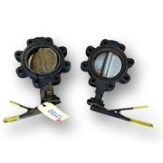 "USED 6"" APOLLO BUTTERFLY VALVES (LOT OF 2)"