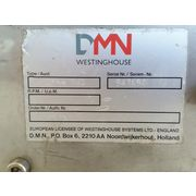 "Used 6"" Dmn-westinghouse Stainless 3a Dairy Food Grade Rotary Airlock BL 150"