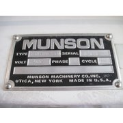 Unused Munson High Intensity Blender - Model HIM-83-S30