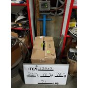 USED 1HP EBARA STAINLESS STEEL END SUCTION CENTRIFUGAL PUMP - 3U SERIES