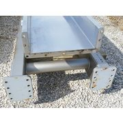 "USED FMC Stainless Steel VIBRATING CONVEYOR - 18"" WIDE X 44'-11"" LONG"