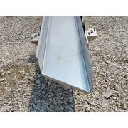 "14"" Wide X 18' Long Key Technology Stainless Steel Vibrating Shaker Conveyor"
