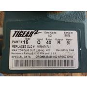 Used Dodge Tigear Gear Reducer, 40:1 Ratio