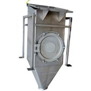 USED VAC-U-MAX BAG DUMP HOPPER - STAINLESS STEEL