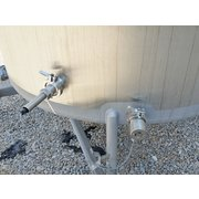 USED 600 Gallon Stainless Steel Tank by CFR