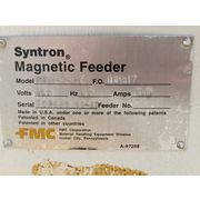 FMC Syntron Magnetic Vibratory Feeder Model FH22-C-DT