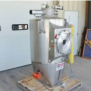 USED STAINLESS STEEL FOOD GRADE PNEUMATIC RECEIVING BIN - 39 CU/FT