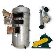 Used 15,000 CFM Sly Inc Stainless Impinjet Wet Gas Scrubber (2-stage) w/ Fan