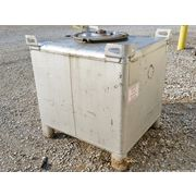 Used Liquitote 350 Gal Stainless Steel Tote