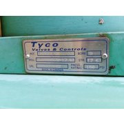 "Used 10"" Tyco Slide Gate - Stainless Steel"